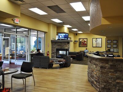 Customer Lounge at Shelor Motor Mile