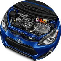 2017 Toyota Prius c Columbus IN Engine