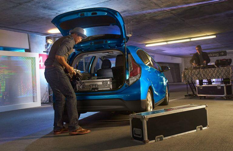 2017 Toyota Prius c Cargo Space