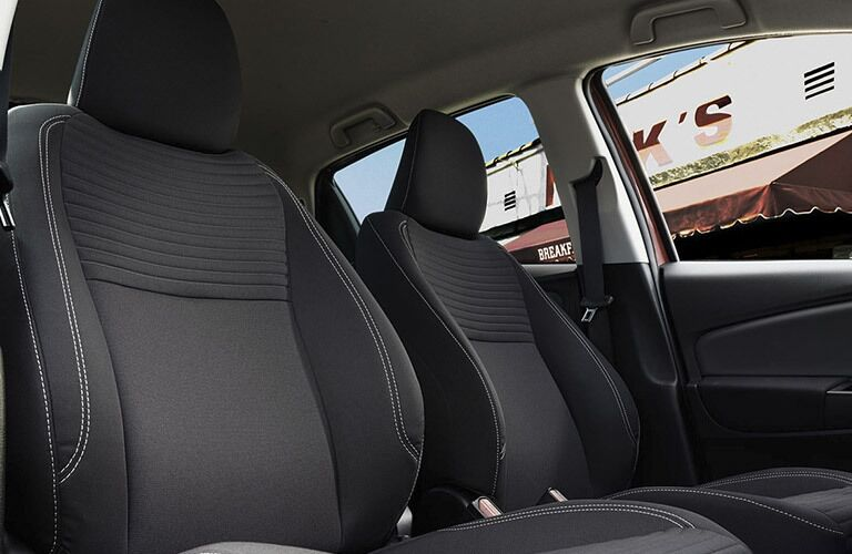 2017 Toyota Yaris Columbus IN Cloth Trimmed Seating