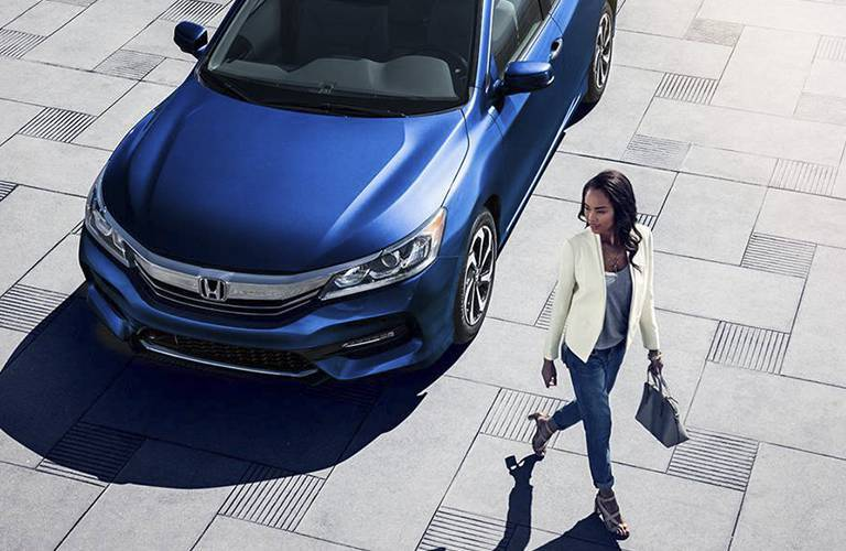 2016 Honda Accord exterior front overhead