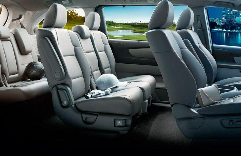 View of Seating Capacity in 2016 Honda Odyssey