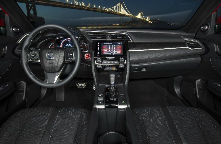 Civic Hatchback Interior