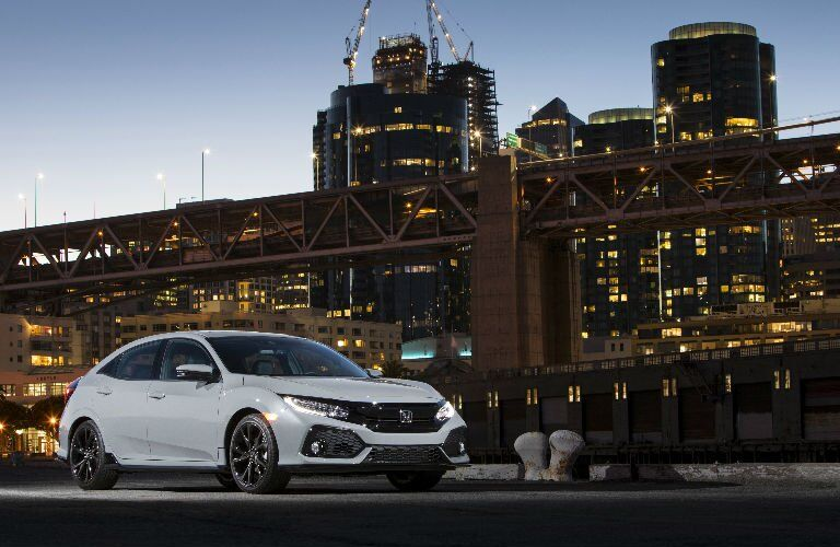Civic Hatchback in White
