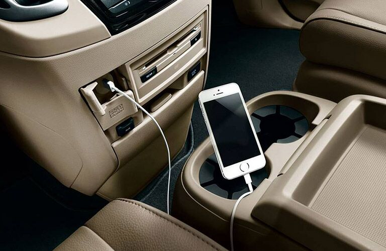 2017 Odyssey USB connectivity