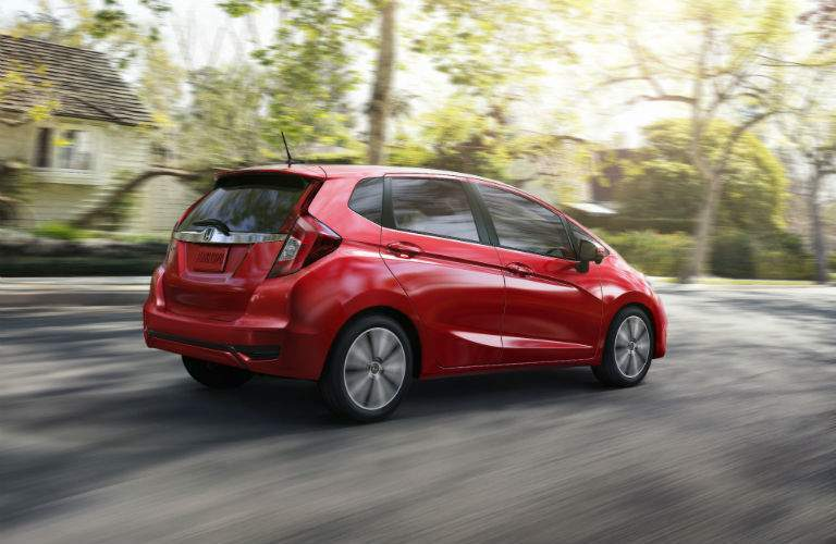 Many elements of the 2018 Honda Fit were designed to attract younger buyers