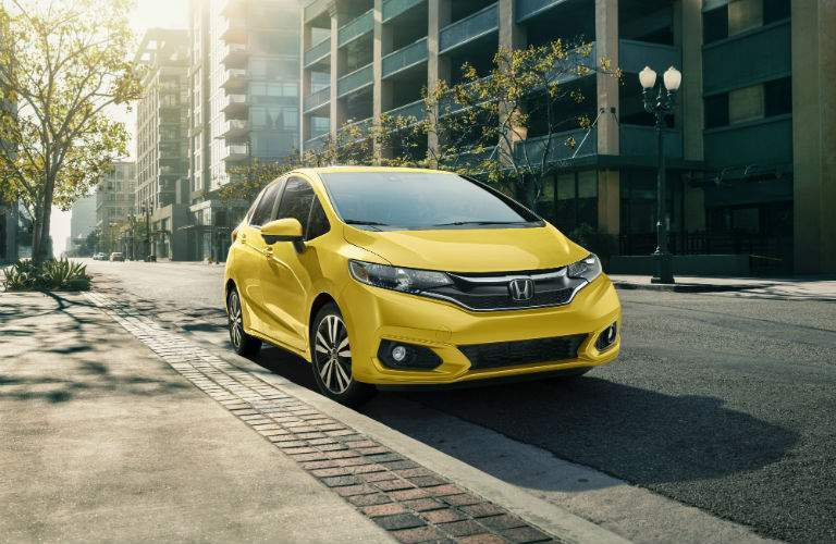 Helios Yellow is another new color for the 2018 Fit
