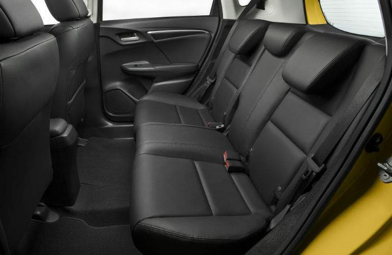 Even taller passengers should find comfort in the backseat of the 2018 Honda Fit
