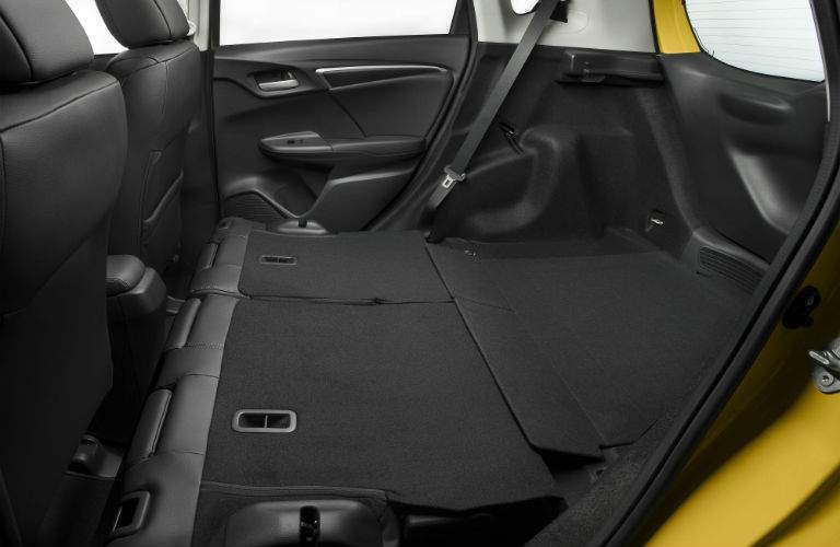 More than 50 cubic-feet of space is available in the 2018 Fit