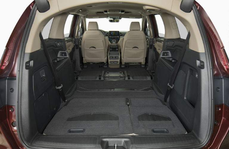 The 2018 Odyssey retains its large cargo volume