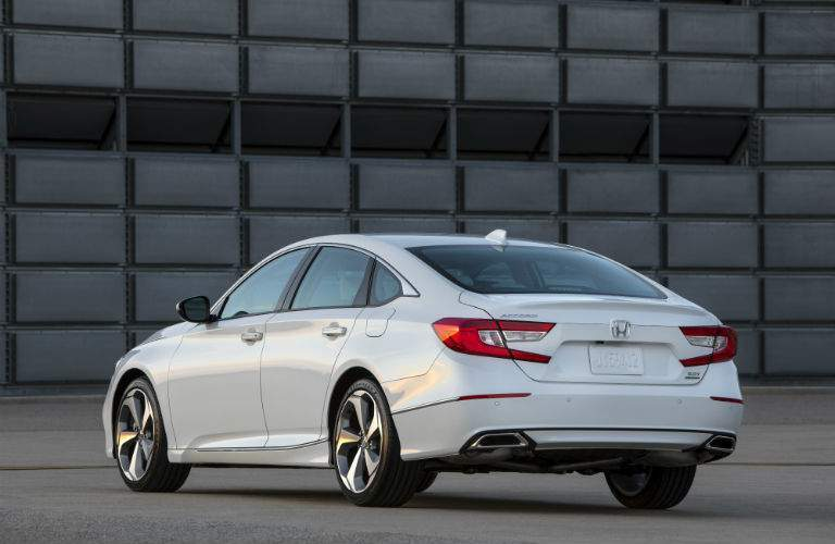 A result of extending the wheelbase of the 2018 Accord is a larger trunk