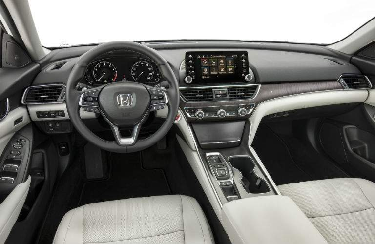 Changes to the interior of the 2018 Honda Accord include updating the infotainment system