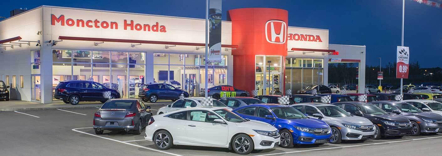 About Moncton Honda a Moncton NB dealership