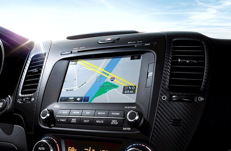 UVO eServices Infotainment System in the 2016 Kia Forte Koup