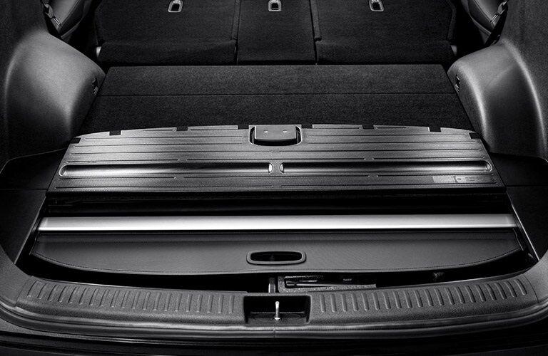 Storage compartments in the 2017 Kia Sorento