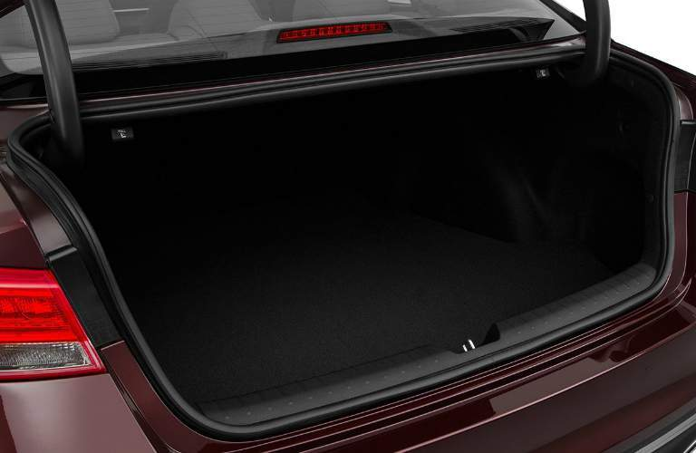 trunk space in the 2018 Kia Optima