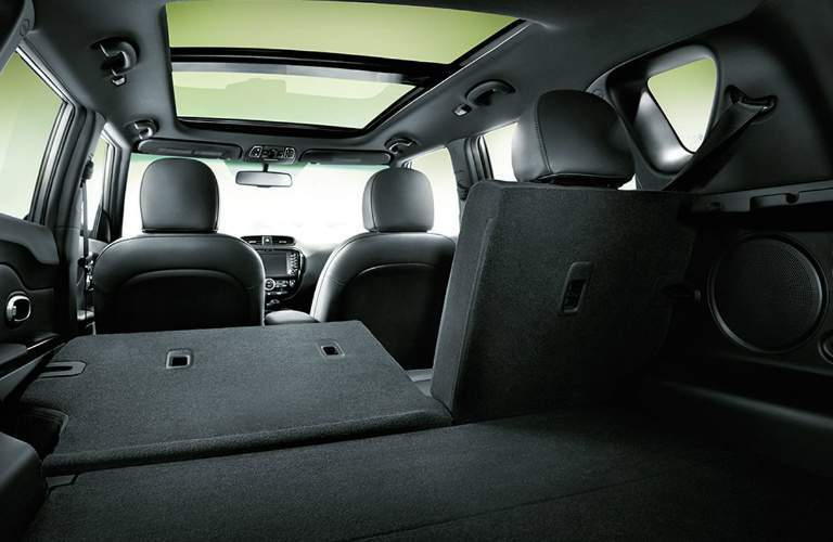 available cargo space in the 2018 Kia Soul