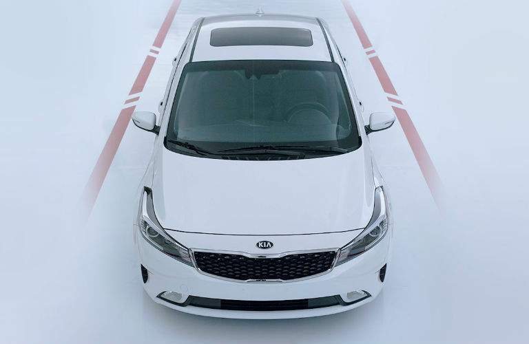 2018 Kia Forte within the lines