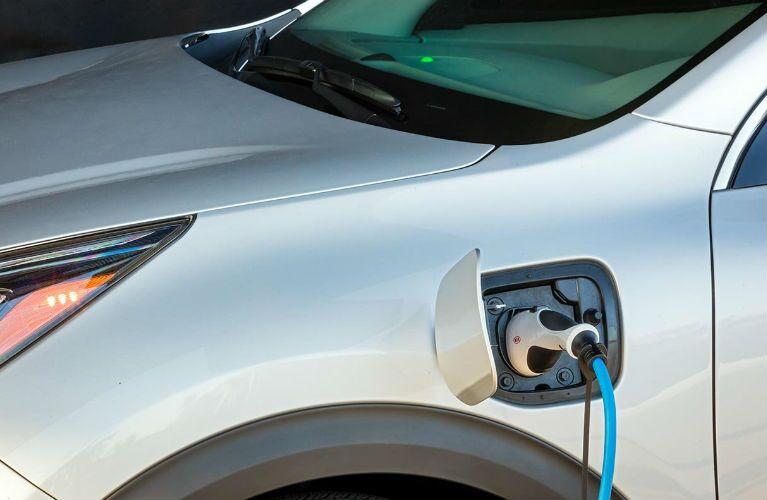 2018 Kia Niro Plug-in Hybrid battery charging port
