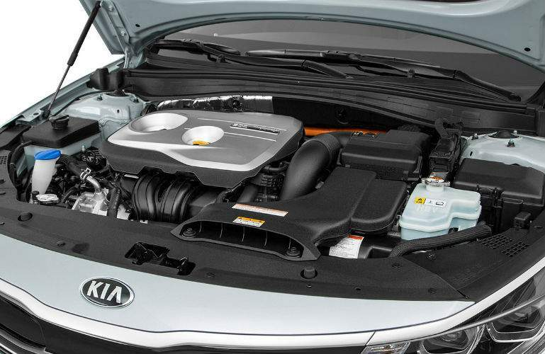 2018 Kia Optima Hybrid engine with Full Parallel Hybrid System