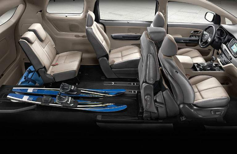 2018 Kia Sedona versatile seating and storage