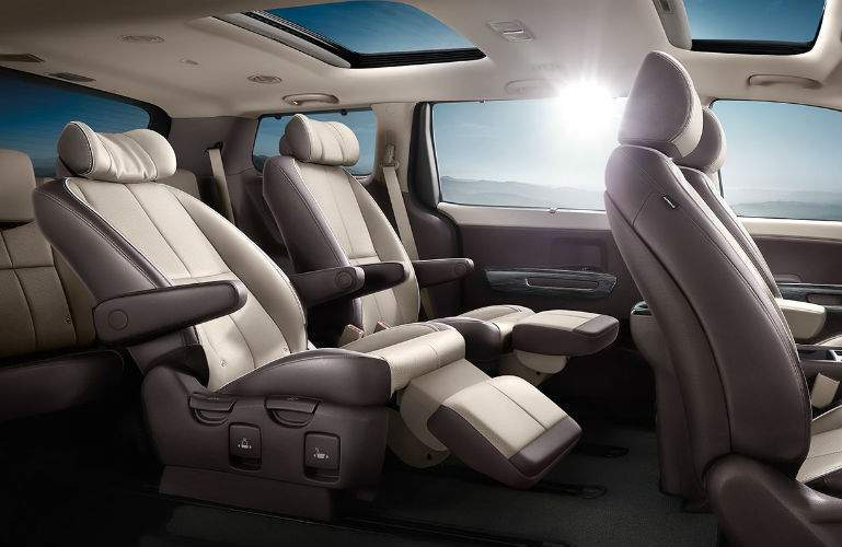 2018 Kia Sedona luxury seating