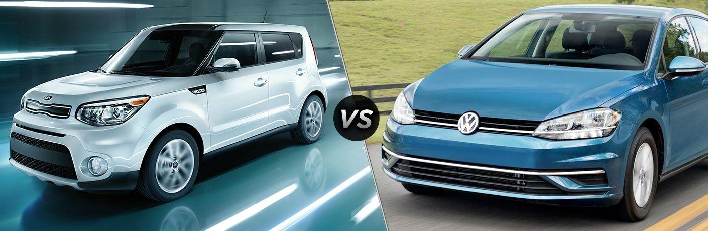 2018 Kia Soul vs 2018 Volkswagen Golf