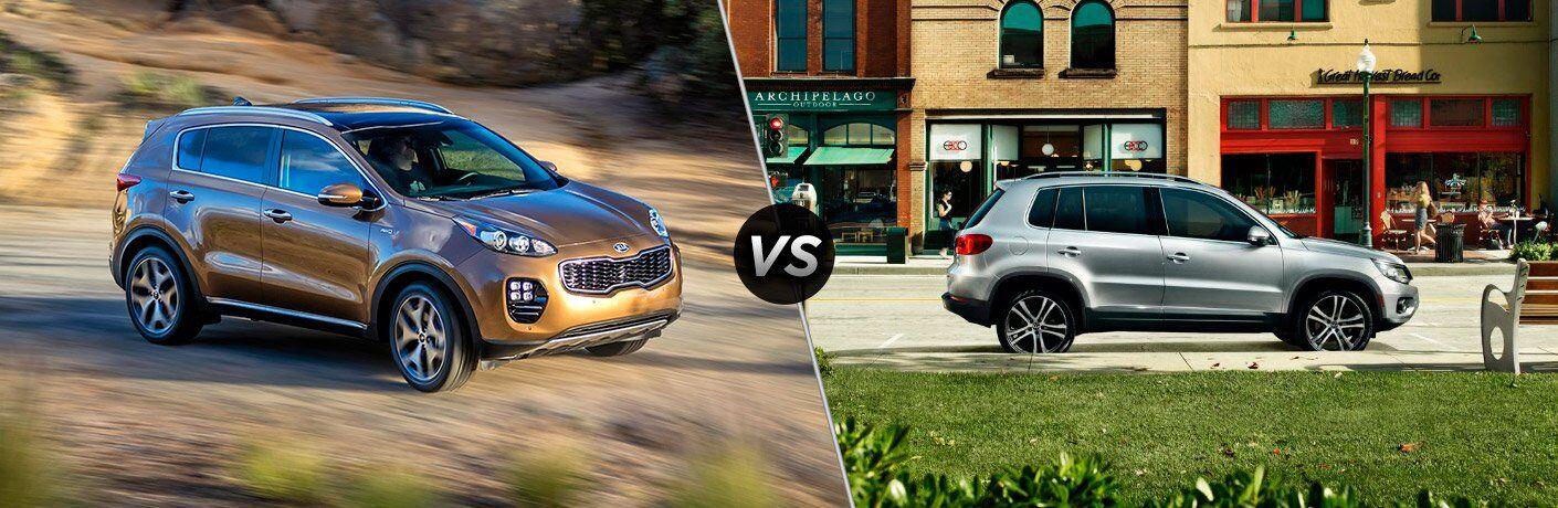 2017 Kia Sportage vs 2017 Volkswagen Tiguan