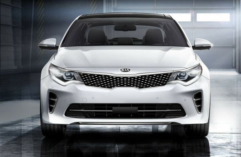 2017 Kia Optima Front End and Grille