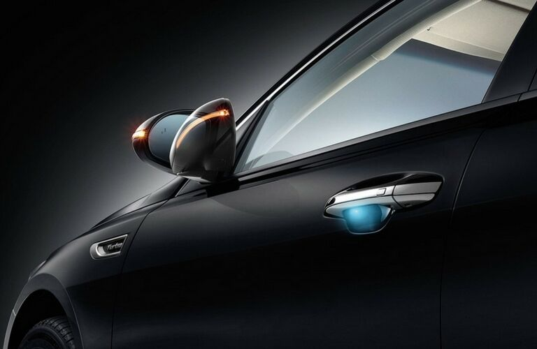 2017 Kia Optima Side Mirrors and Indicators