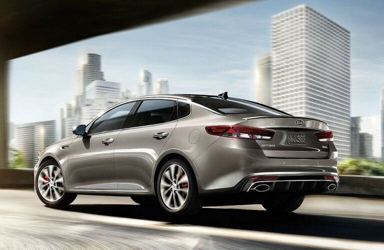 2017 Kia Optima Silver Color Option