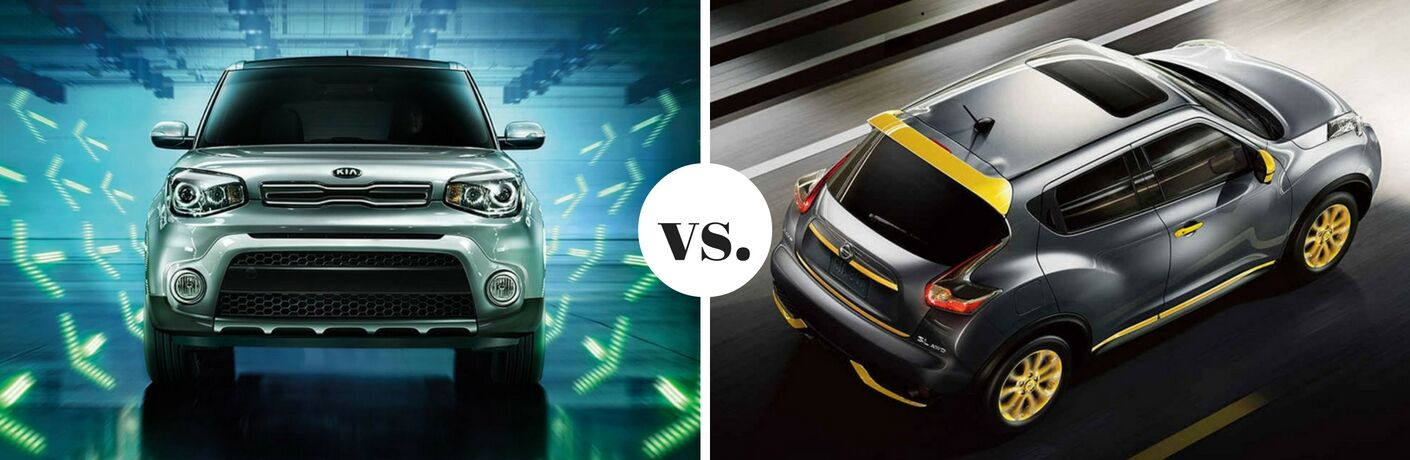 2017 Kia Soul vs. 2017 Nissan Juke