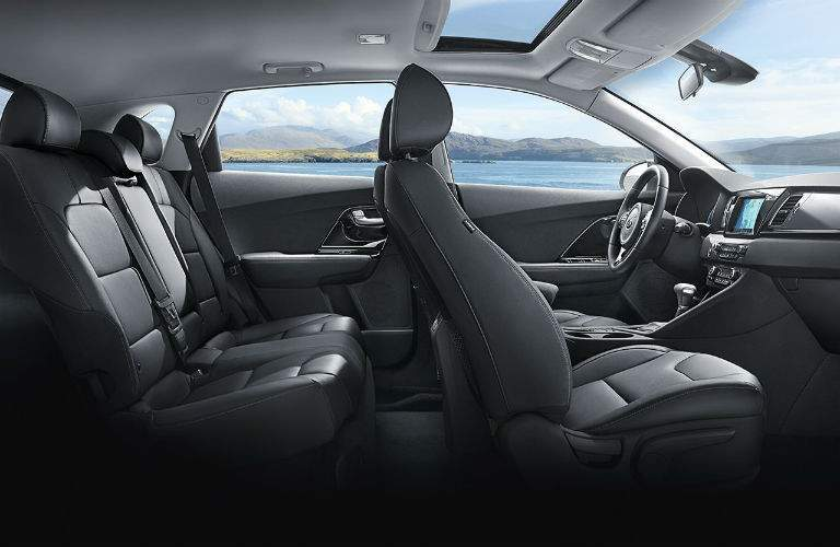 2017 Kia Niro interior view seating