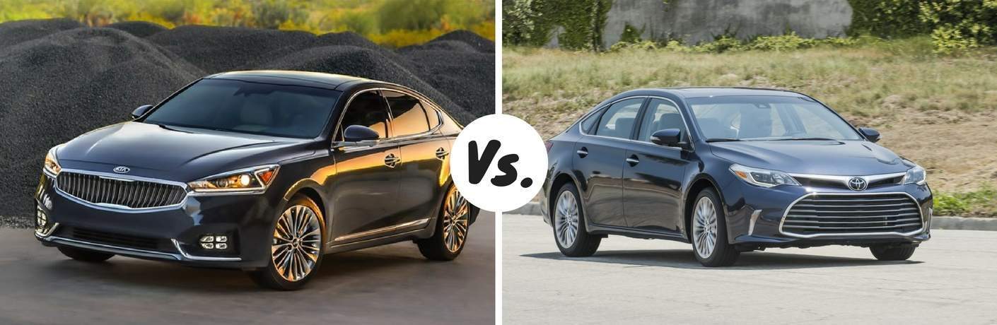 Kia Cadenza vs. Toyota Avalon