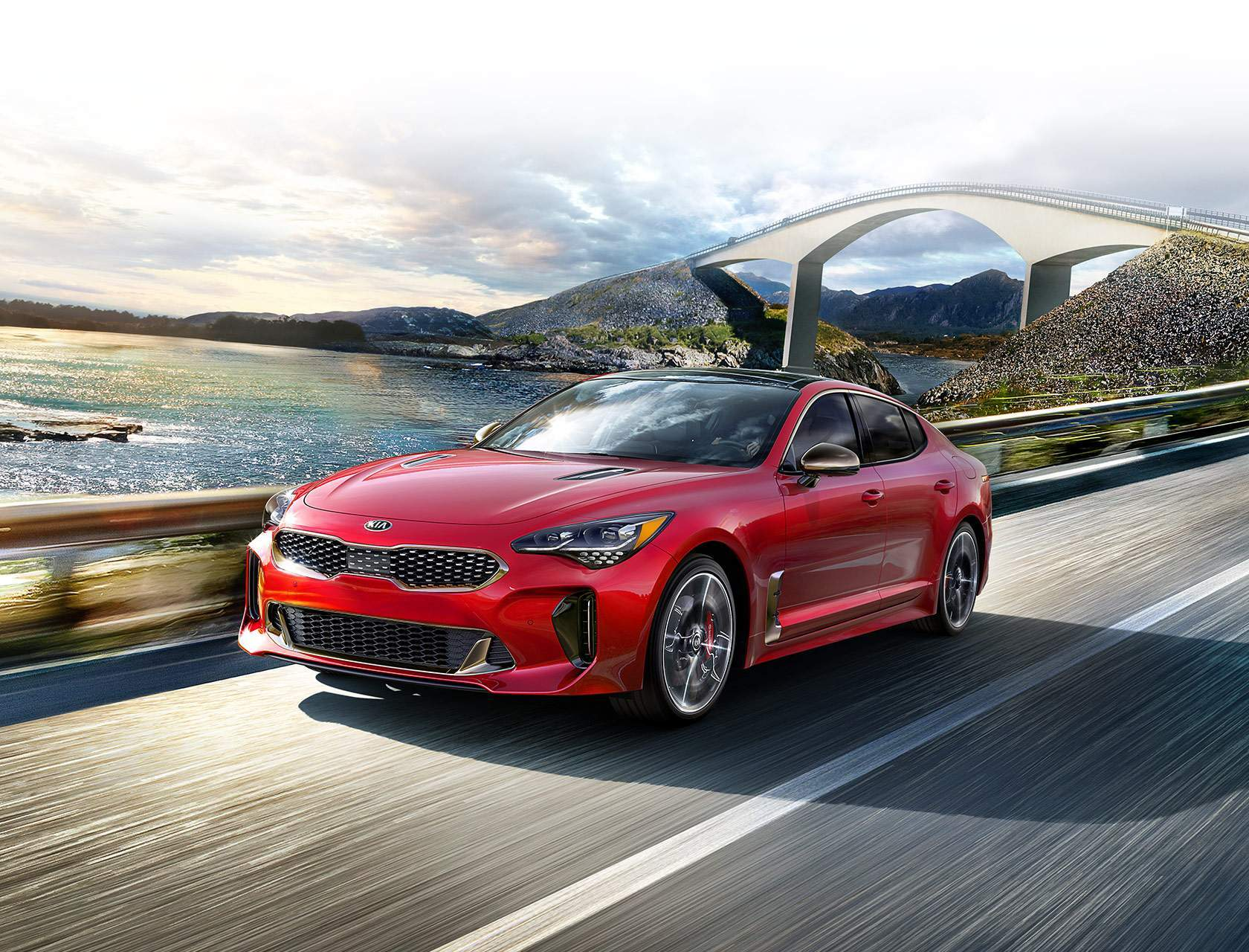 2018 Kia Stinger in Garden Grove, CA