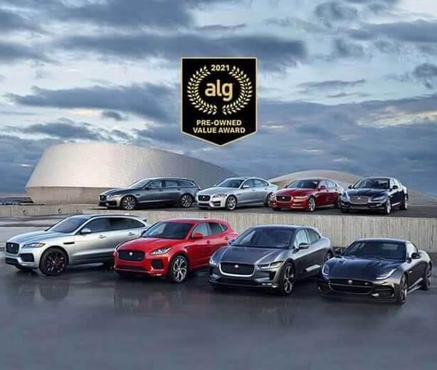 Top Premium Brand: Jaguar Approved Certified Pre-Owned