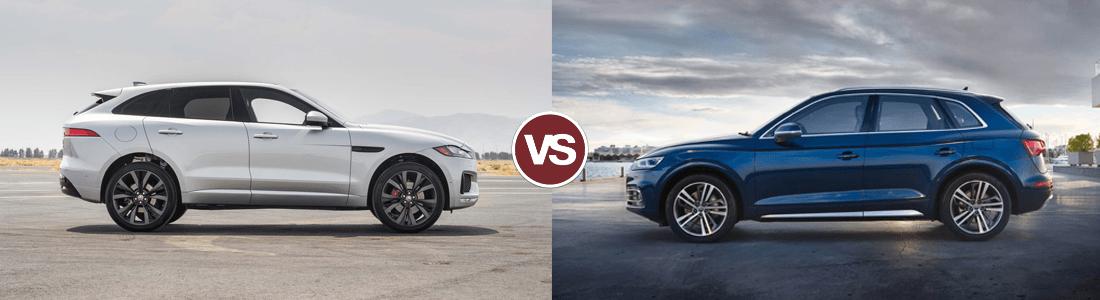 2017 Jaguar F-PACE vs Audi Q5