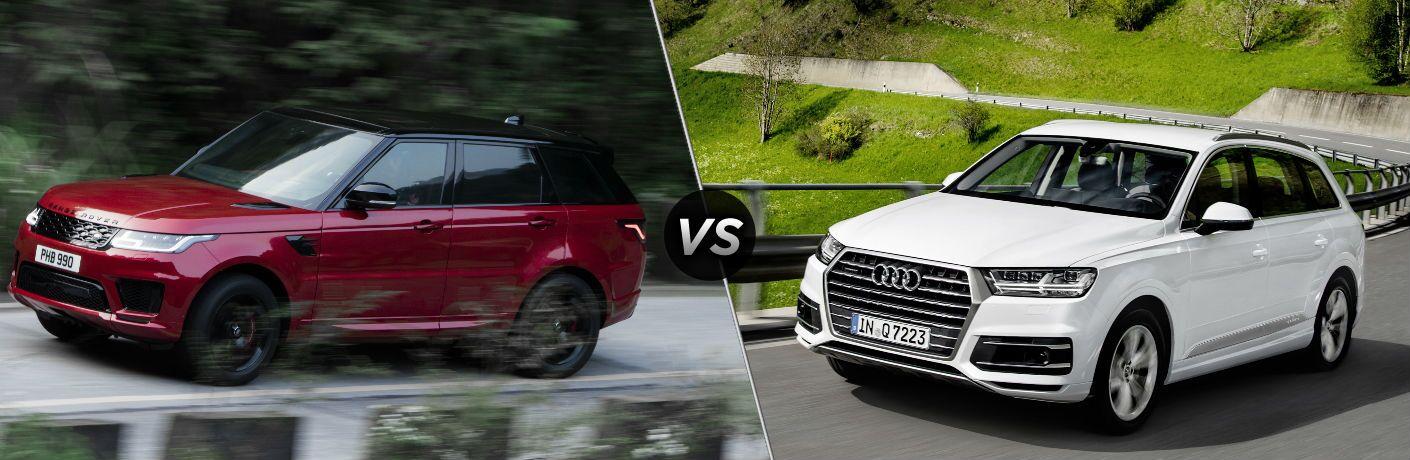 2018 Land Rover Range Rover Sport vs 2018 Audi Q7