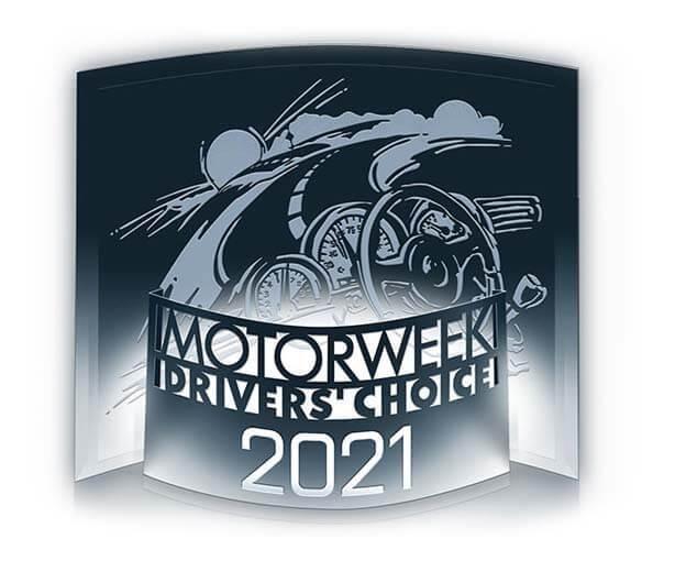 2021 Best Midsize Utility Vehicle by Motorweek