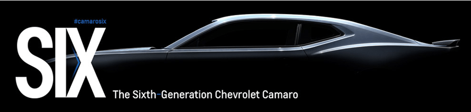 The Sixth Generation Chevrolet Camaro