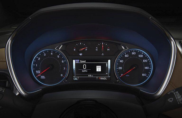 2018 Chevrolet Equinox gauge cluster