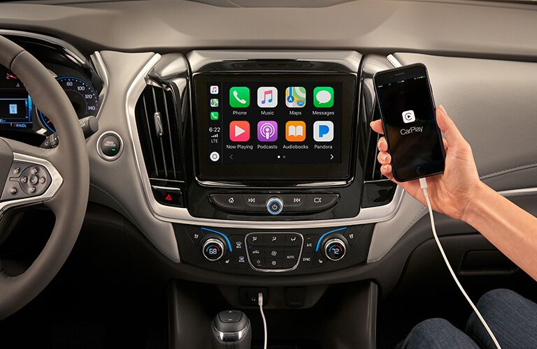 Apple CarPlay in the 2019 Chevrolet Traverse