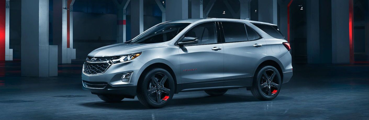 Silver-colored 2019 Chevy Equinox