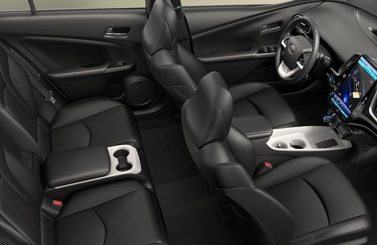 2017 Toyota Prius Prime seating
