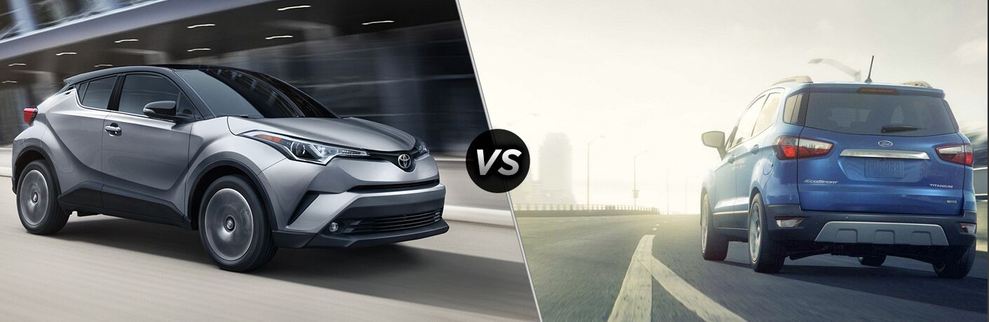2019 Toyota C-HR vs 2019 Ford EcoSport
