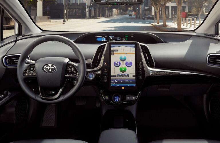 2019 Toyota Prius center multimedia console