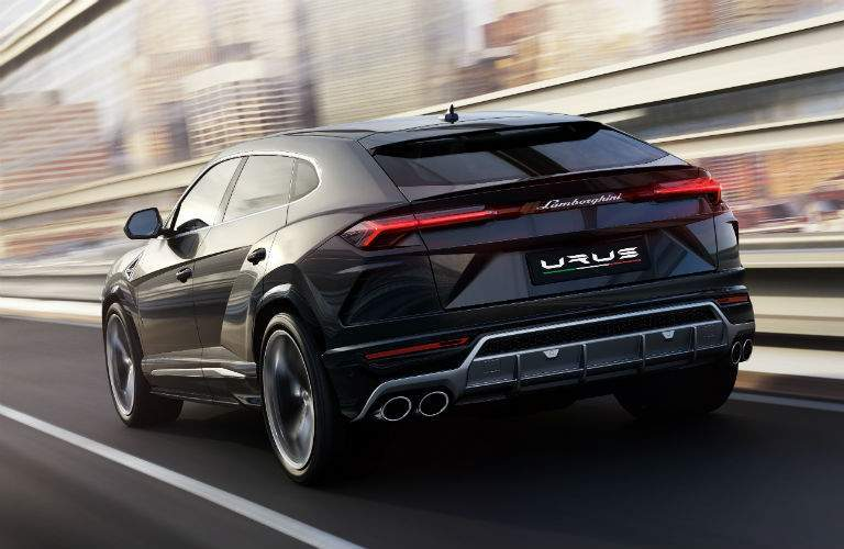 2018 Lamborghini Urus SSUV Exterior Driver Side Rear
