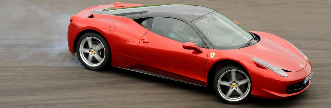 2009 Ferrari 458 Italia Exterior Passenger Side Front Profile