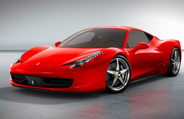 2009 Ferrari 458 Italia Exterior Driver Side Front Profile