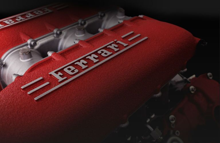 2009 Ferrari 458 Italia Engine